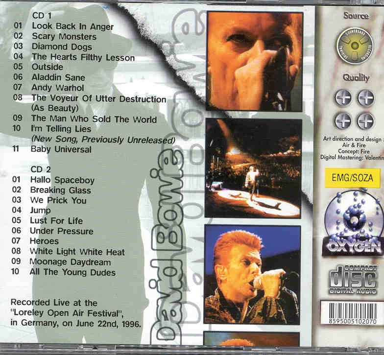 bowie david dvd live in berlin2002 arte