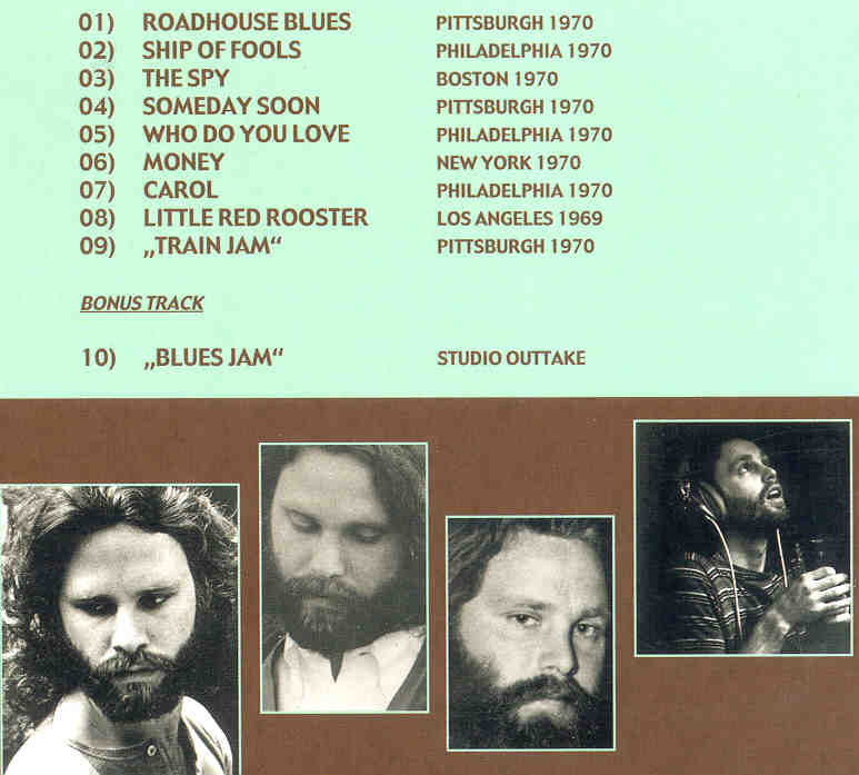 Absolutely Live Outtakes ( 1969 - 1970 ) Picture · Tracks  sc 1 st  fafos & doors