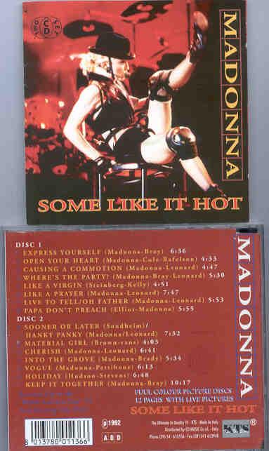 Blonde Ambition Tour Dates
