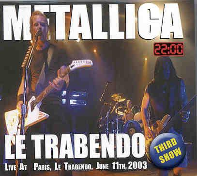 Metallica Trabendo CD cover