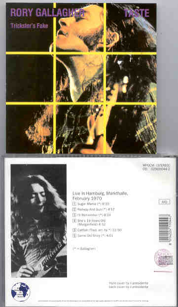 Markthalle, Hambourg, Allemagne, 02 février 1970 [Bootleg] Trickstersfake